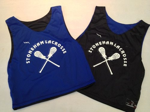 stoneham lacrosse pinnies