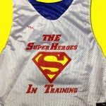 Super Heros Training Pinnies