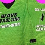 Wave Vaulting Pinnies