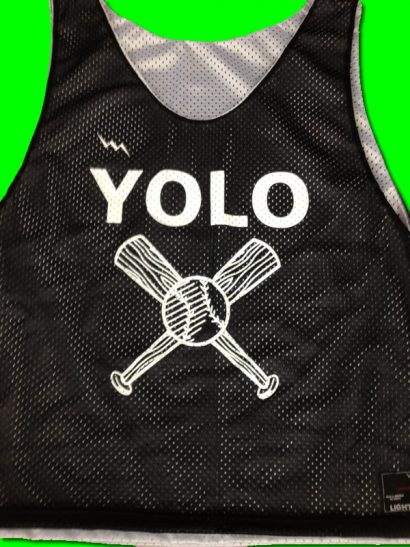 yolo pinnies baseball pinnies
