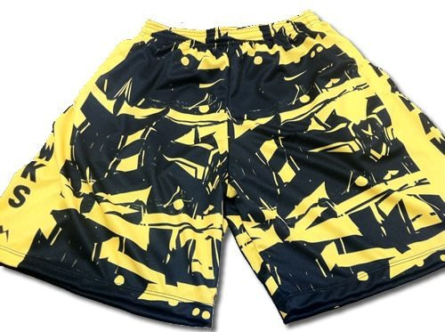 mohawks lacross shorts - sublimated lacrosse shorts