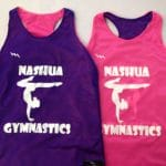 Nashua Gymnastics Pinnies