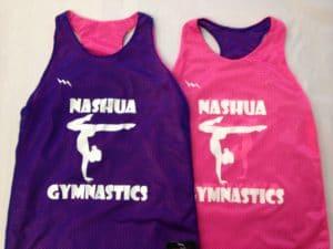 Nashua Gymnastics Pinnies