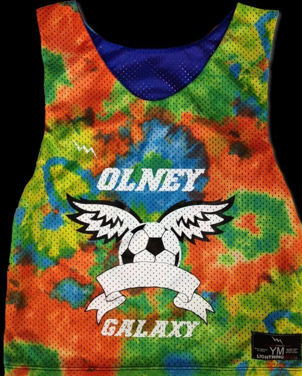 olney galaxy soccer pinnies