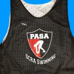 Black Swimming Pinnies