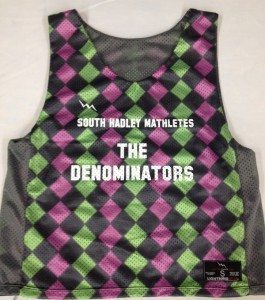 South Hadley Mathletes Pinnies