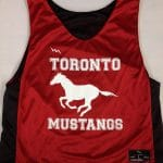 Toronto Mustangs Pinnies