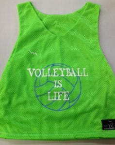 Volleyball is Life Pinnies