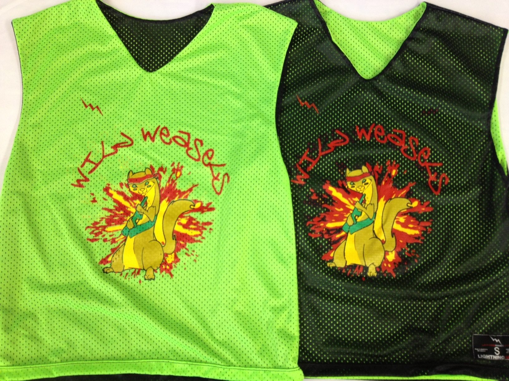 weasels pinnies