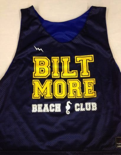 biltmore beach club pinnies