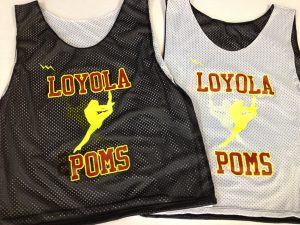 Loyola Poms Pinnies