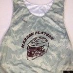 Maroon Platoon Lax Pinnies – Digital Camo Pinnies