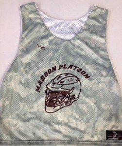 Maroon Platoon Lax Pinnies
