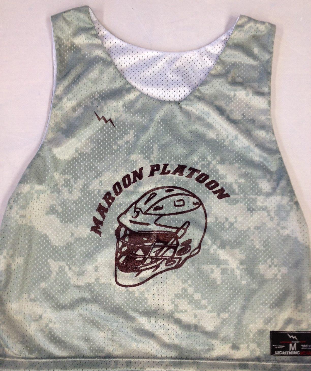 maroon platoon pinnies