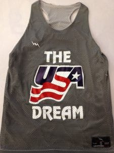 USA Dream Racerback Pinnies