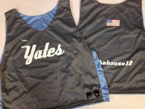 Yates Lacrosse Pinnies