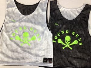 young guns pinnies