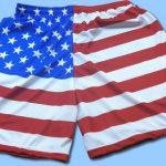 American Flag Shorts – Sublimated Lacrosse Shorts