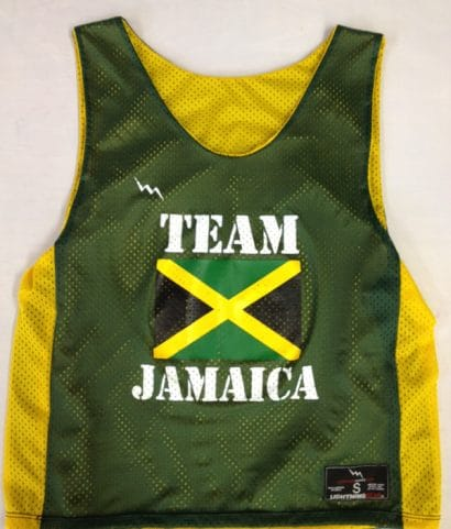 team jamaica pinnies
