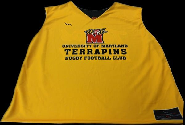 terps rugby pinnies