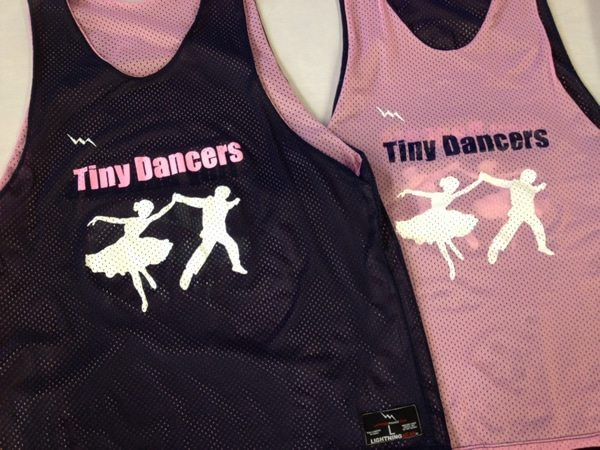 tiny dancers pinnies