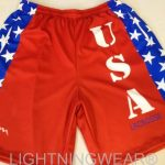 USA Team Lacrosse Shorts