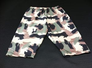 Camouflage Compression Shorts