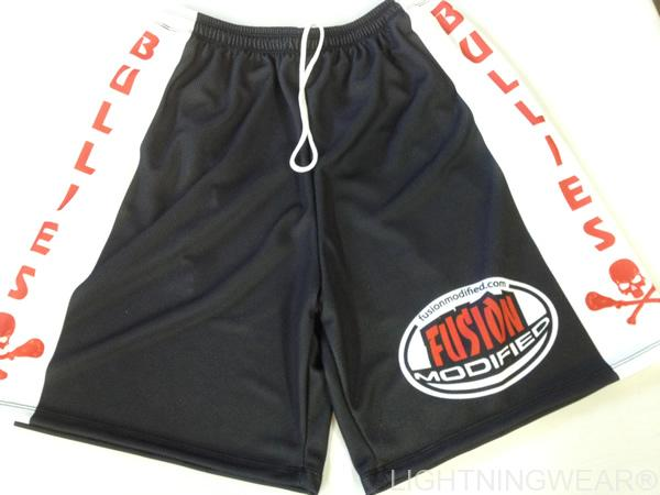 bullies sublimated lacrosse shorts