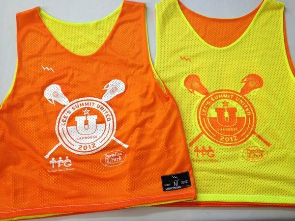college lacrosse pinnies