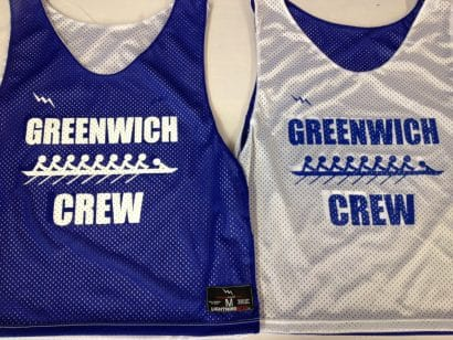 greenwich crew pinnies