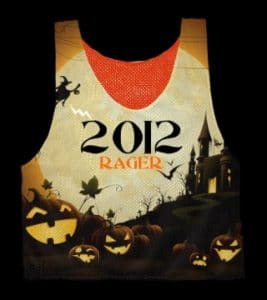 Halloween Lacrosse Pinnies