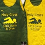 Holy Cross Girls Swim Pinnies