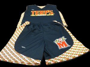 terps lacrosse pinnies