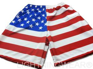 sublimated American Flag Shorts