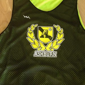ashburn soccer pinnies