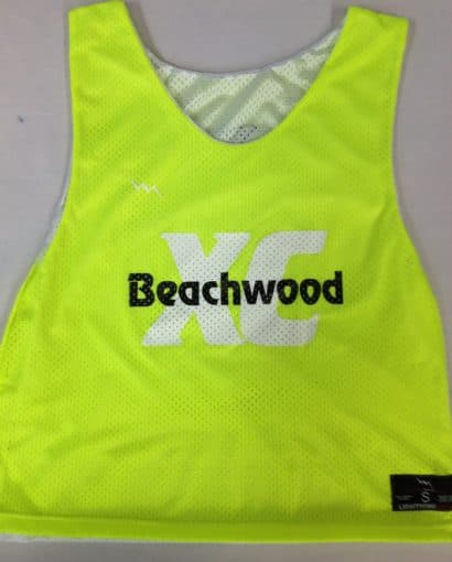 beachwood cross country pinnies