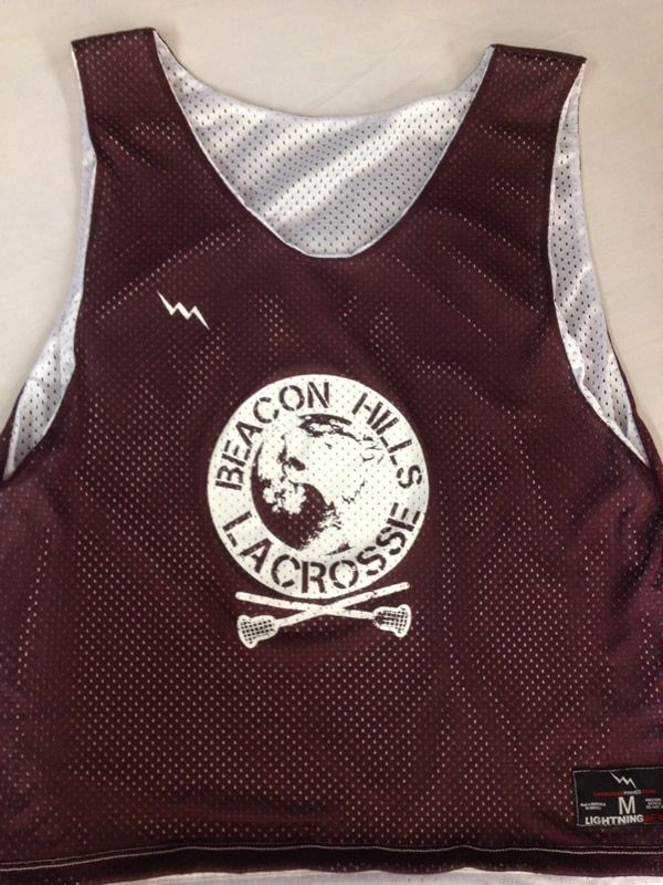 beacon hills lacrosse pinnies