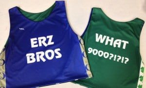 ERZ Bros Pinnies & Custom Sublimated Reversible Jerseys