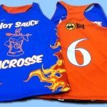 Hot Sauce Lacrosse Pinnies