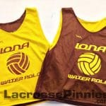 Iona Water Polo Pinnies – Water Polo Jerseys – Maroon and Gold Pinnies