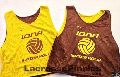 iona water polo pinnies