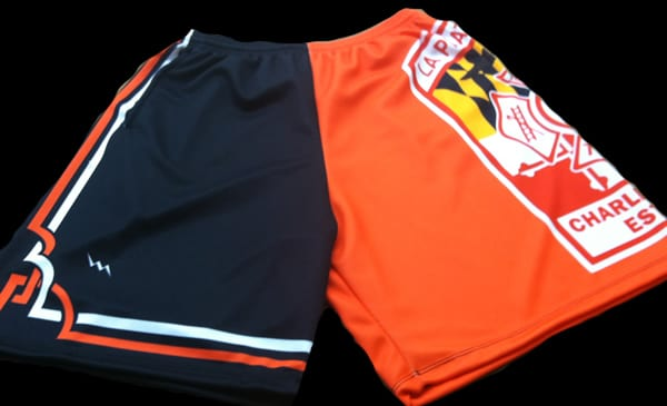 sublimated firefighter shorts