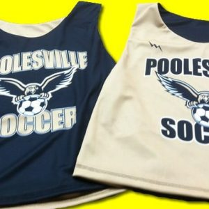 poolesville soccer pinnies sublimated soccer pinnies