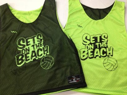 sets on the beach pinnies