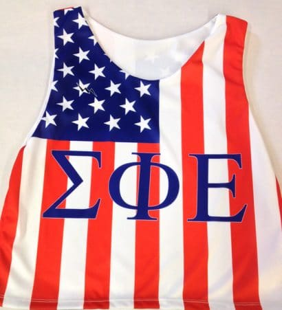 sig ep pinnies - american flag pinnies