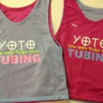 Tubing Pinnies – YOTO Pinnies – Powder Blue and Pink Pinnies