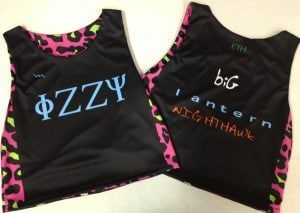fizzy sublimated cheetah pinnies