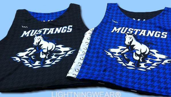 mustangs reversible jerseys