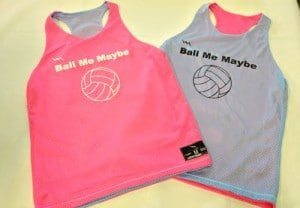 Womens Volleyball Pinnies