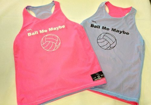 ball me maybe pinnies